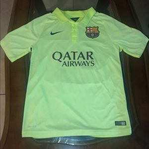 Authentic Neymar Barcelona Away Jersey 14/15